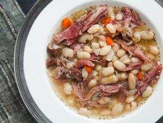 Don't Throw your Ham scraps and Ham Bone away….make delicious Ham Bone Soup!!!