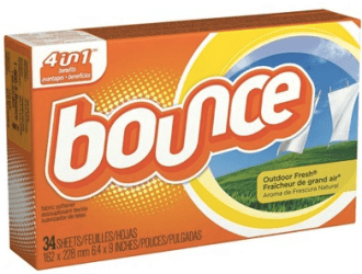 Target: HOT deal for Bounce Dryer Sheets…just $0.49 each!!!