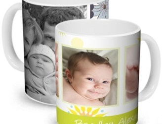 Be prepared for Mother's/Father's Day make a customized mug just $1  plus get 40 FREE prints!!!