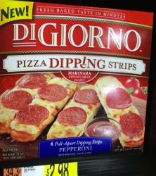 New high value $1/1 DiGiorno Pizza Dipping Strips coupon + Walmart Scenario!!!