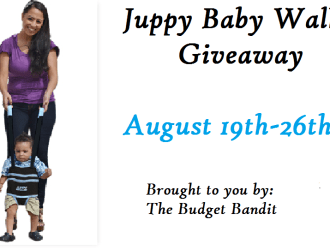 Free Blogger Opp…Juppy Baby Walker Giveaway!!!