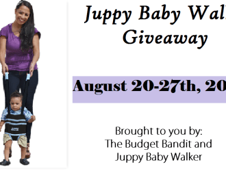 Save your back….Enter to win a Juppy Baby Walker ($59.95 value)!!!