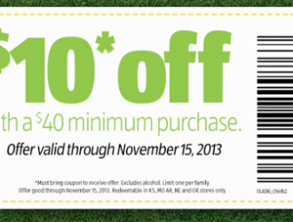 HOT $10 off Aldi coupon to print FAST!!!