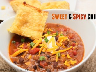 Sweet and Spicy Chili Recipe (Stovetop or Crockpot)