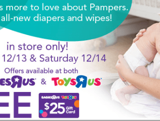 *HOT* Toys R Us scenario for Pampers Diapers just $0.07 a diaper!!!