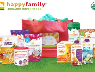 ENDS TONIGHT! Happy Family Organic Food For The Whole Family #Review and #Giveaway