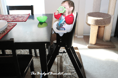 my most favorite feature of the svan baby to booster high chair is that my son can sit at the table with the rest of the family - Baby Chair With Name