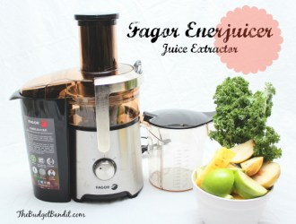 Fagor Enerjuicer Dual Speed Juicer Extractor #Review and Juice #Recipes!