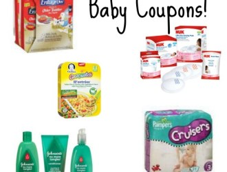New Baby Coupons…Gerber, Pampers, Johnson's, NUK and more!