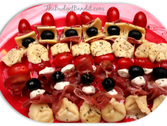 Caprese Italian Skewers #Recipe
