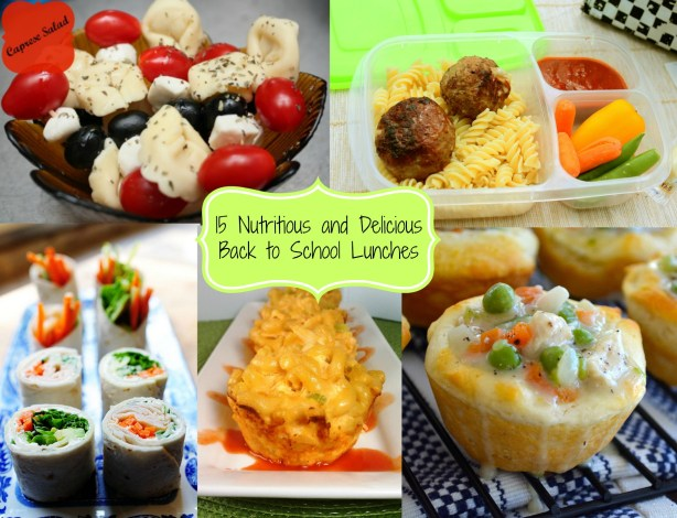 Kids Healthy Lunches