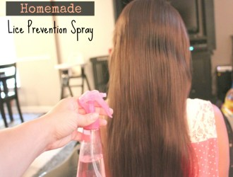 Homemade Lice Prevention Spray