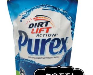 FREE Purex Laundry Detergent
