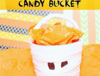 DIY Mummy Candy Bucket