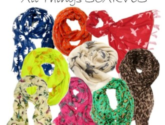 Frugal Fashion Friday: All Things Scarves!