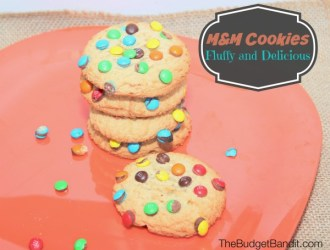 Deliciously Fluffy M&M Cookies Recipe