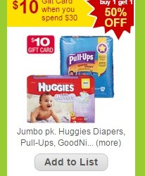 STOCK UP on Huggies Diapers at just $1.87 a pack