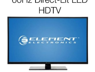 Go Quick! Element 40″ LED TV just $115 with FREE in-store pick up!