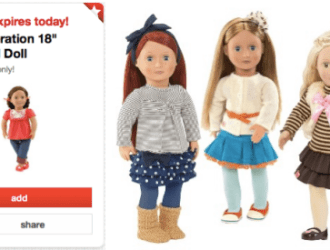 Target 50% off Generation Dolls TODAY ONLY!
