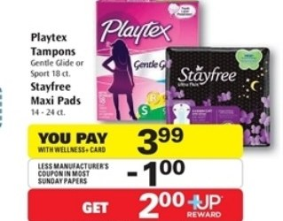 Rite Aid – Playtex Tampons just $0.99 a box!