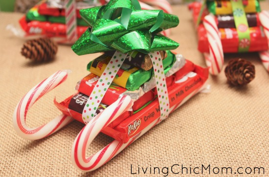 use them as place holders with name tags on them at your christmas dinner or give them as gifts to friends family teachers coaches or even put them in - Candy Sleighs For Christmas