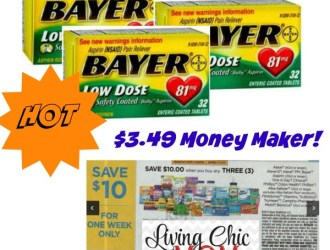 Walmart – HUGE Money Maker on Bayer Aspirin!