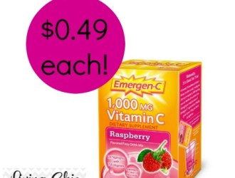 Target: Emergen-C 10 count boxes just 0.49 each