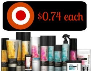 Target – Pantene Stylers just $0.74 each!