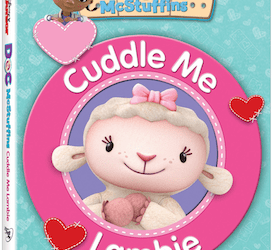 Doc McStuffin Cuddle Me Lambie DVD is here!