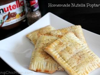 Homemade Nutella Poptarts