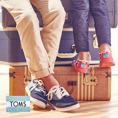 HURRY! TOMS are 40% off on Zulily (prices starting at $18.99)