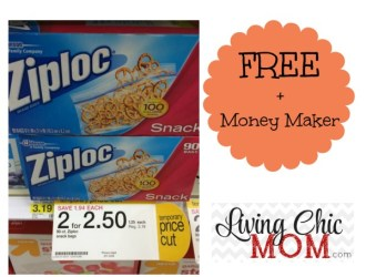 *HOT* Ziploc Bags Free + Money Maker at Target!