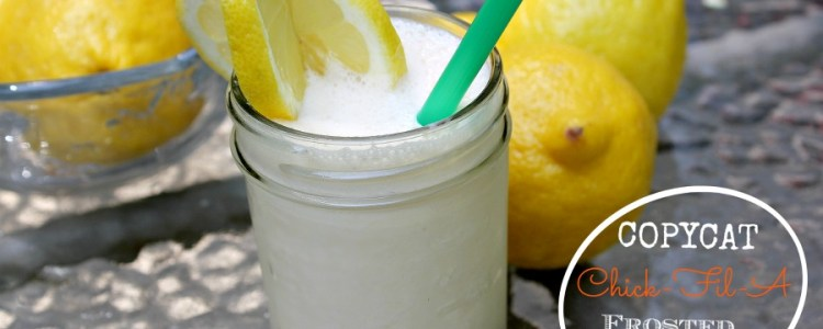 Frosted Lemonade Chick-Fil-A Copycat Recipe