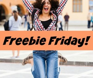 Freebie Friday! Grab Free Samples, Free Printables, Free Books and more!