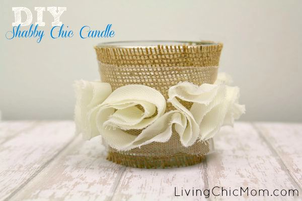 DIY Shabby Chic Candle lcm 2