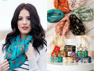 Cents of Style – Scarf and Cuff for just $9.94 shipped!
