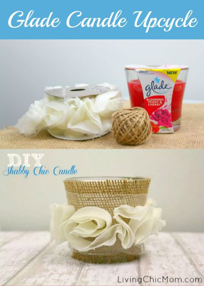 glade candle upcycle
