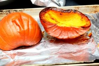 Pumpkin Puree Cooked