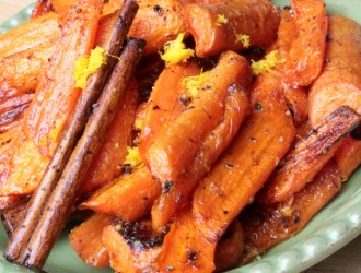 Roasted Carrots with Cinnamon and Orange Zest – Made Easy with KitchenIQ