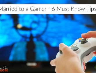 Married to a Gamer – 6 Must Know Tips!
