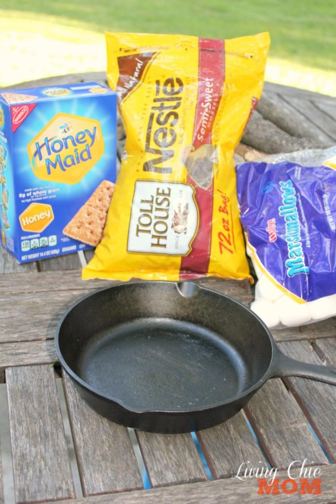 Smore Dip Ingredients