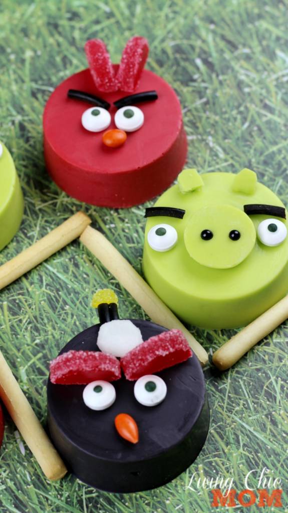 Angry Bird Cookies pin