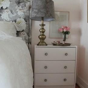 bedroom update: styling nightstands