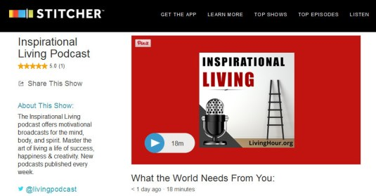 Inspirational Podcasts Stitcher