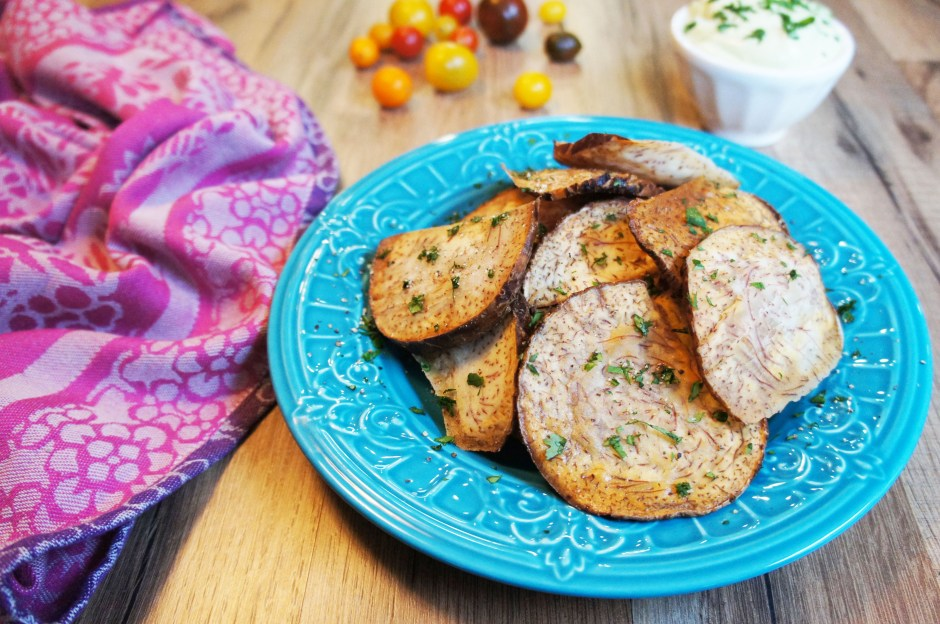 Taro Chips - Living Loving Paleo