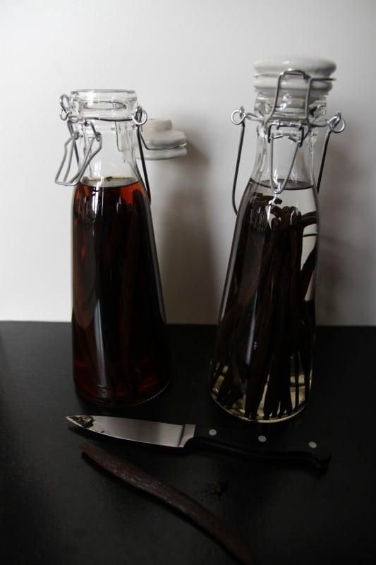 Old bottle vanilla extract
