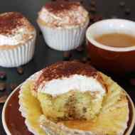 Tiramisu Cupcakes mit Mascarponecreme
