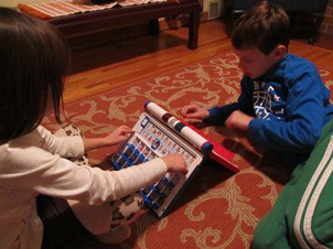 Kids stuck at home for snow days? Play board games