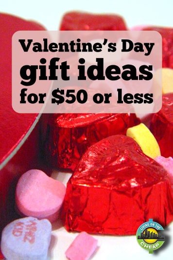Valentine's Day gift ideas for $50 or less