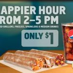 "Taco Bell's ""Happier Hour"" offers $1 specials every afternoon"